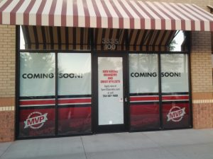 Sports Clips - Window Graphics 3