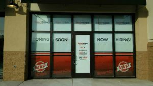 Sports Clips - Window Graphics